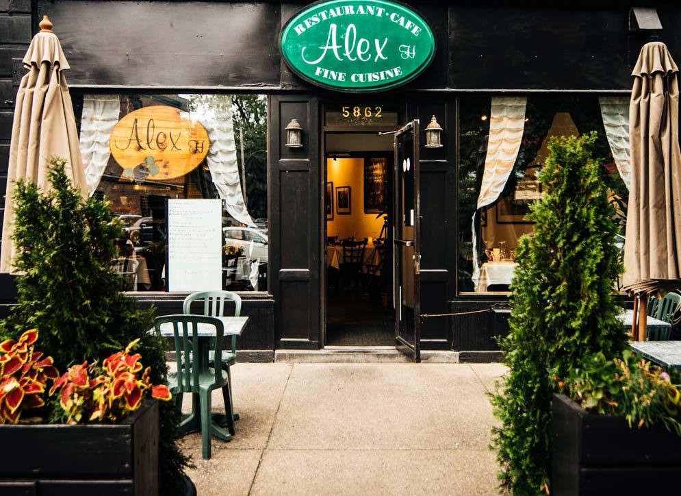 Montreal Restaurant Alex H